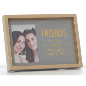 Gold Sentiments Friends Frame